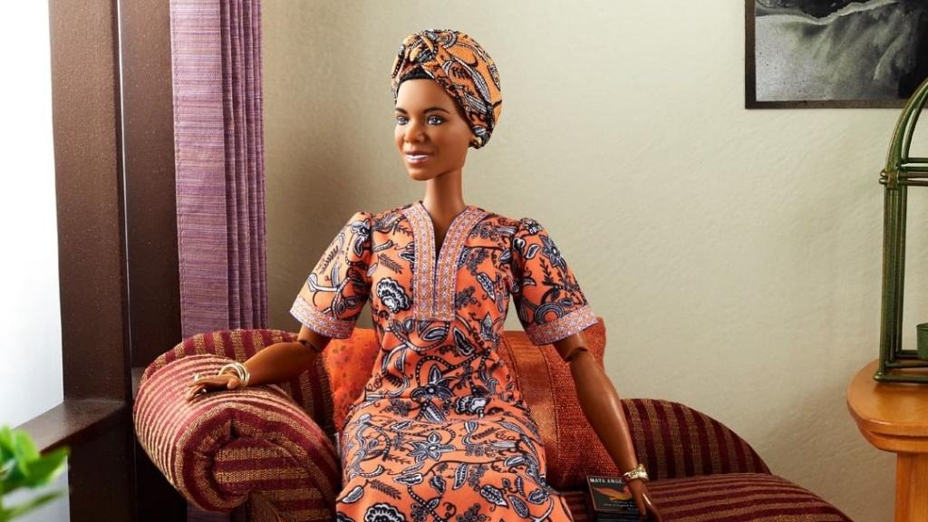 Maya Angelou Barbie baba
