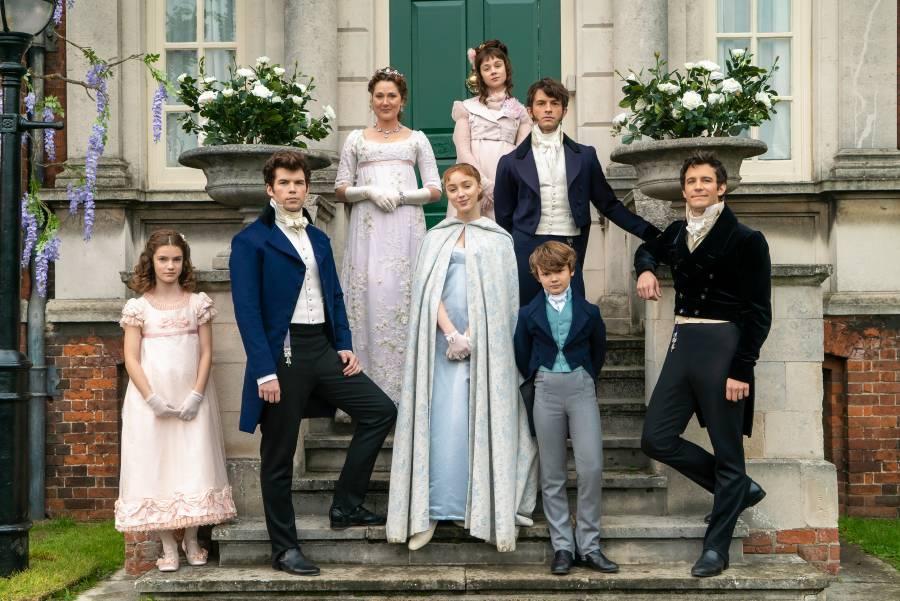 Bridgerton sorozat a Netflixen
