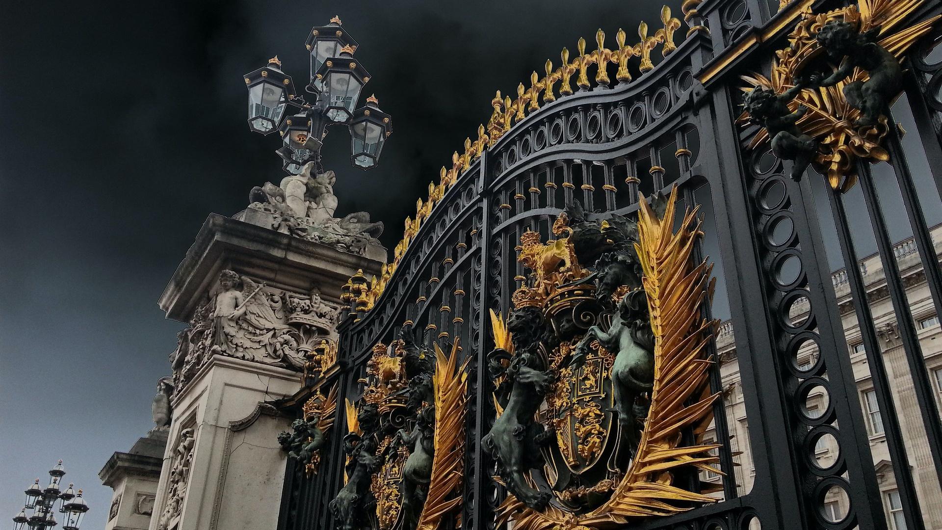 A Buckingham-palota kapuja