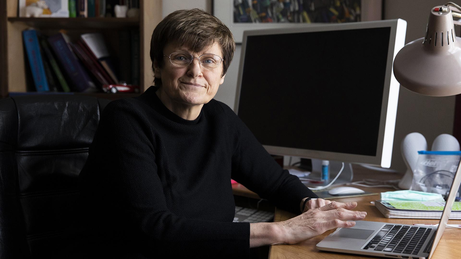 Karikó Katalin pennsylvaniai otthonában