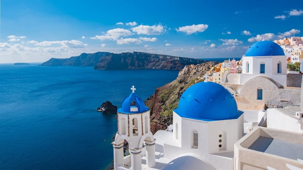 A csodálatos Santorini (fotó: Pixabay)