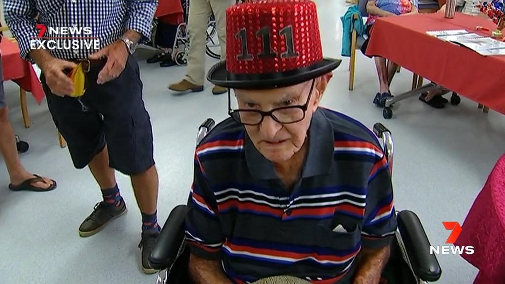 A 111 éves férfi szerint a garnélaevés a hosszú élet titka