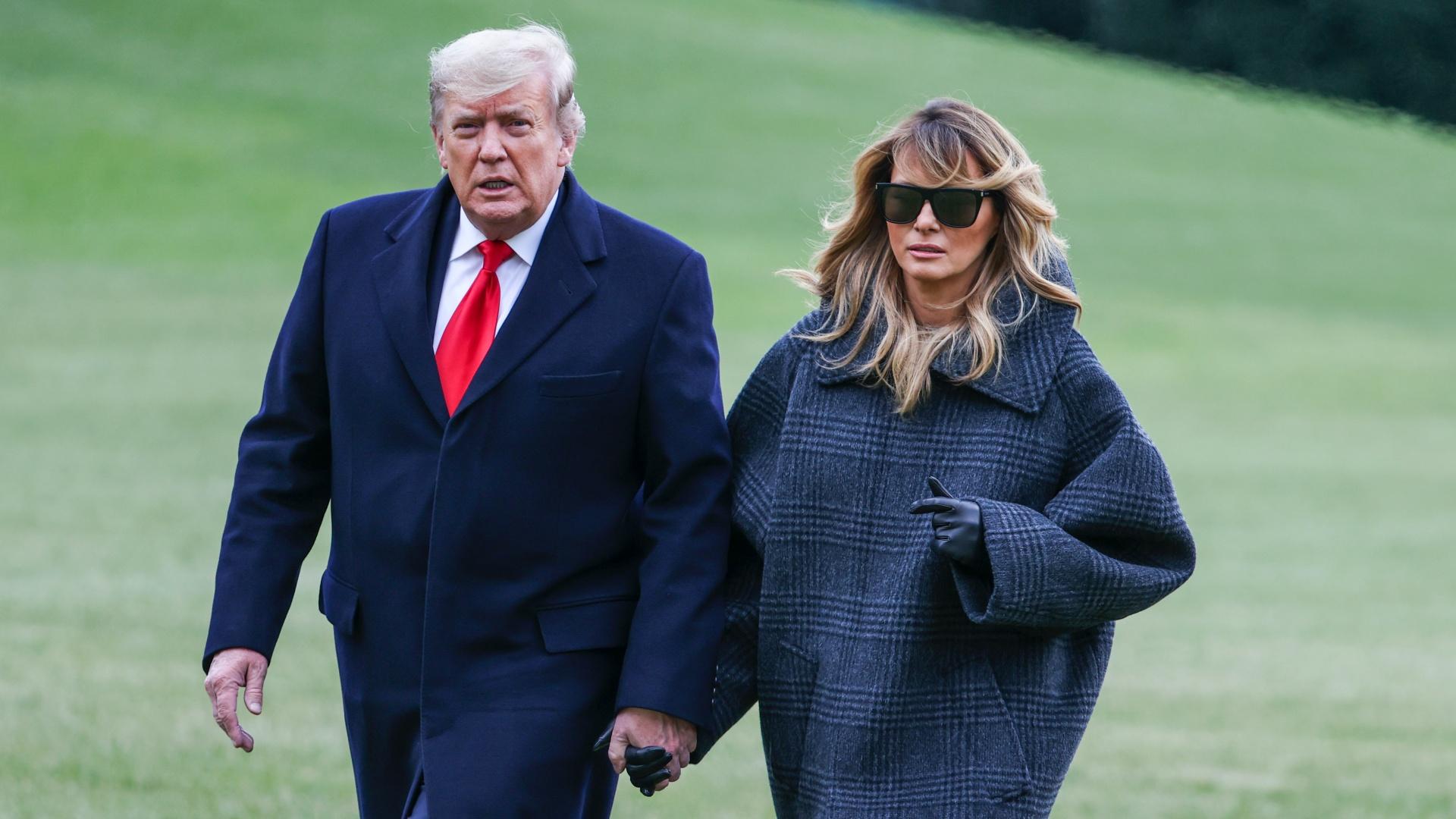 Donald és Melania Trump