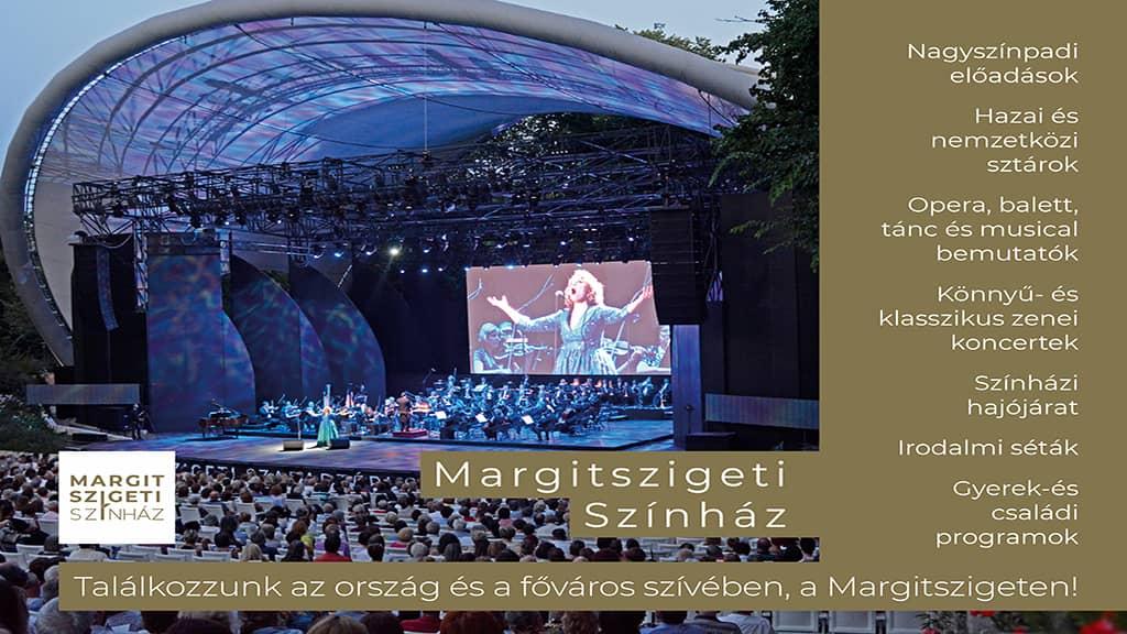 Korábbi évadkezdéssel és bővebb műfaji kínálattal nyit a Margitszigeti Szabadtéri Színház (X)