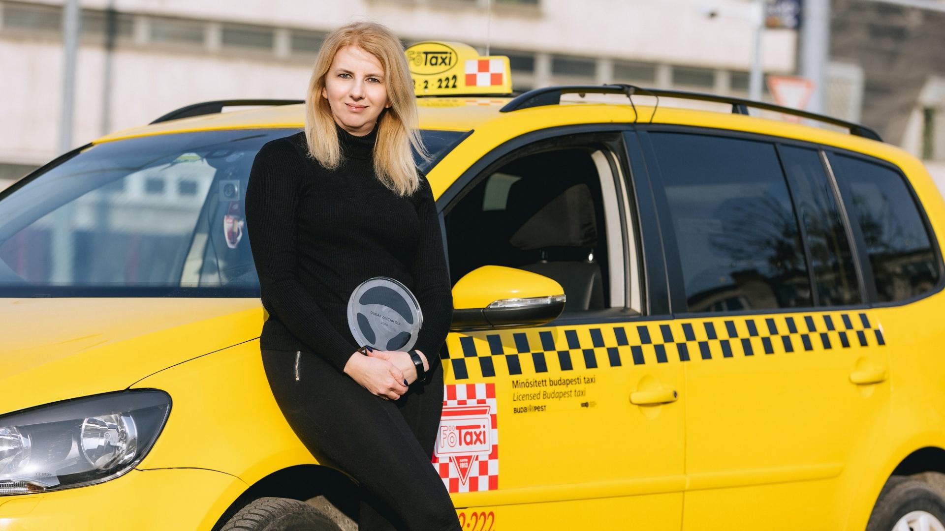 Zsuzsanna, Az Év Taxisofőrje