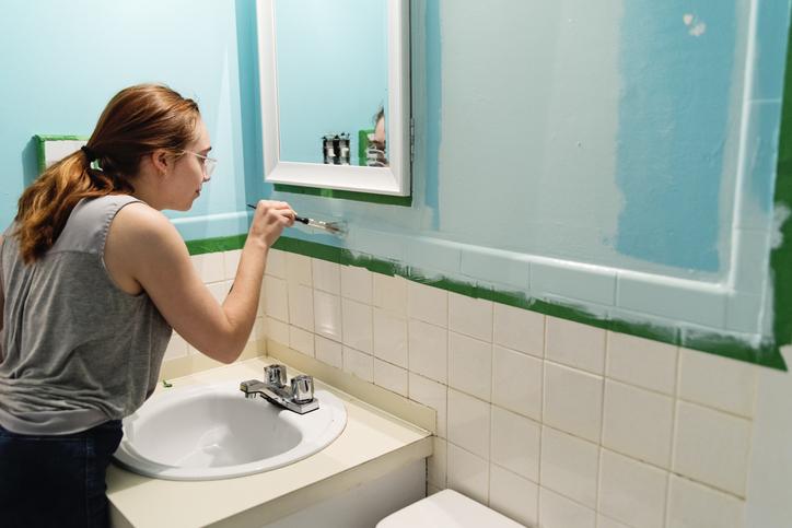 Fürdőszoba felújítása otthon