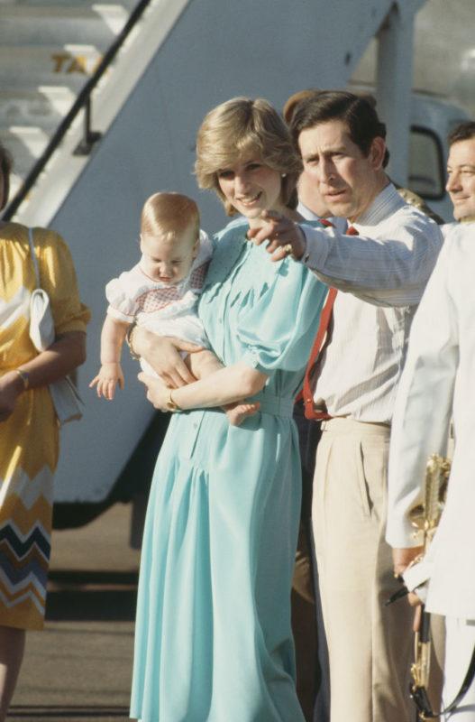 Károly, Diana és a kis Vilmos herceg