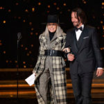 Diane Keaton és Kenau Reeves 2020-ban