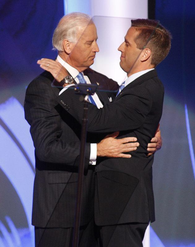 Joe és Beau Biden 2008-ban