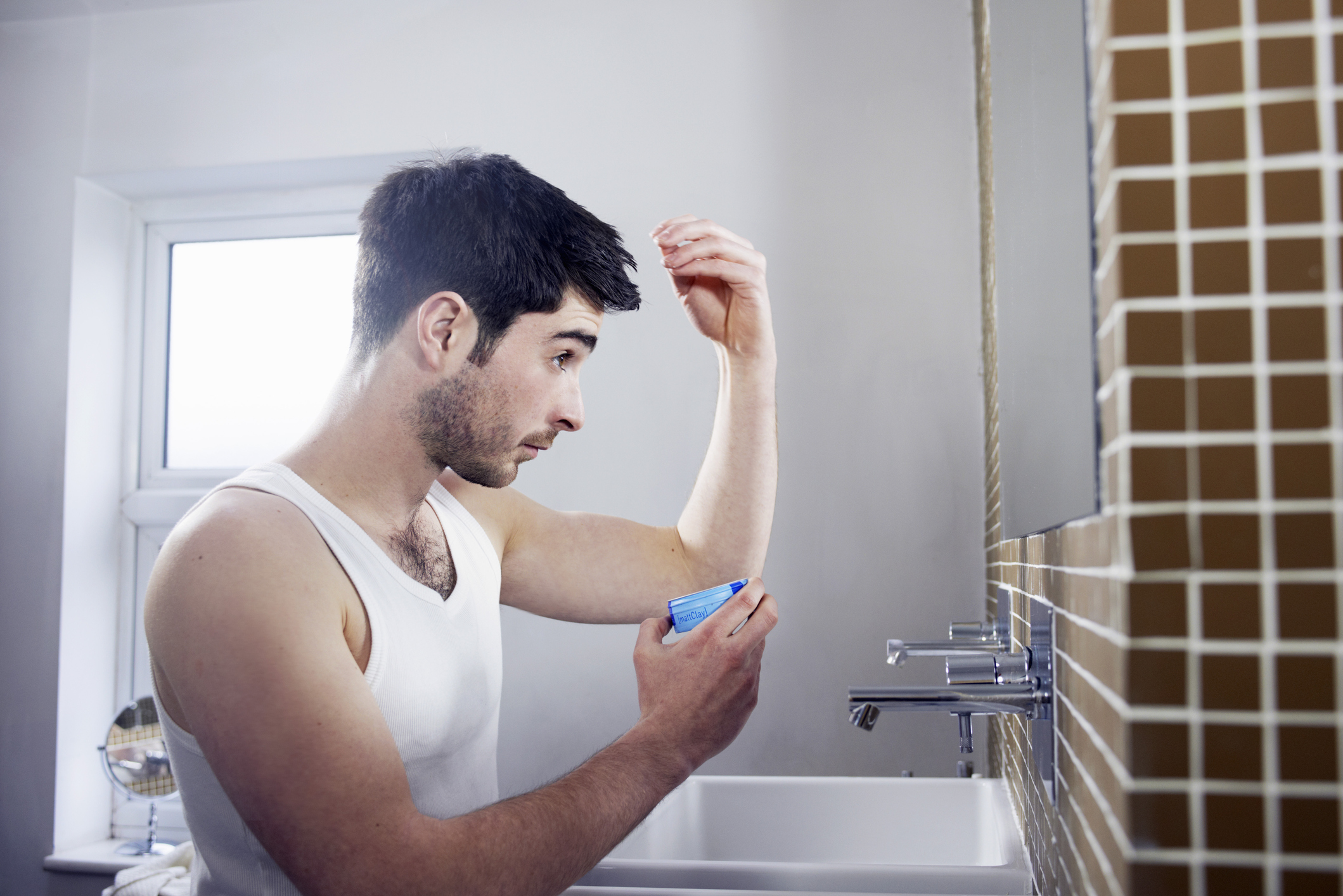 Hajápolási rutin férfiaknál