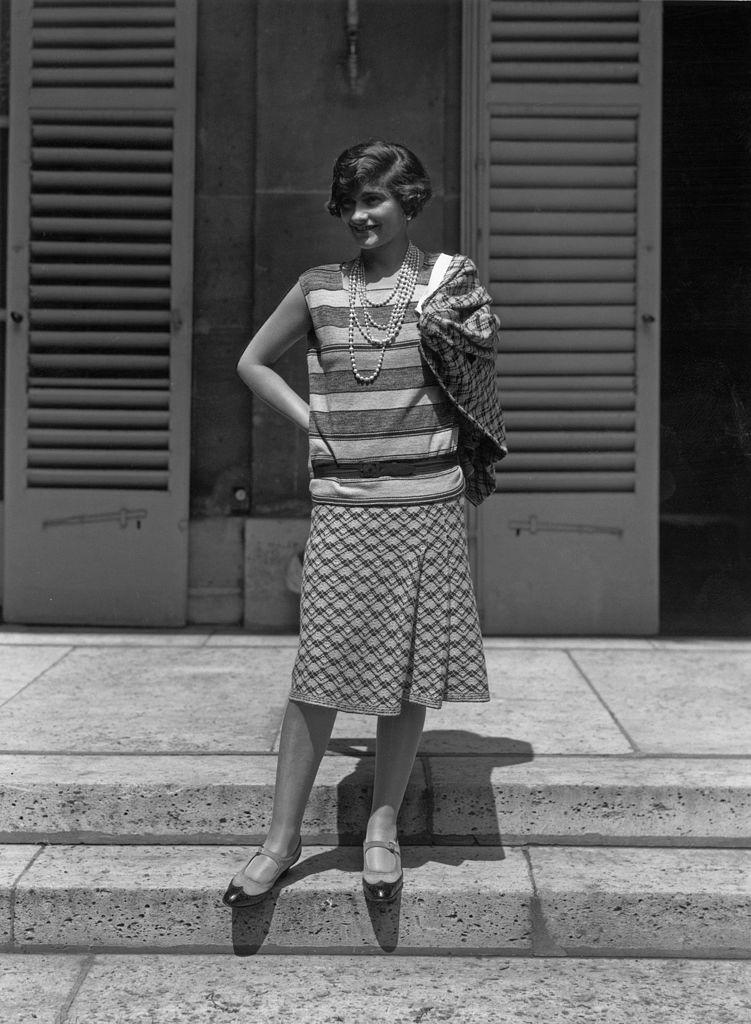 Coco Chanel párizsi otthona előtt. (