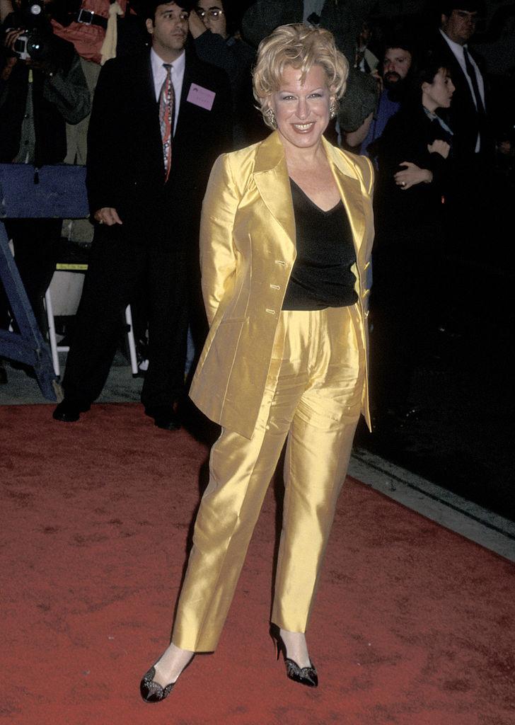 Bette Midler 1996-ban, az Elvált nők klubjának bemutatóján