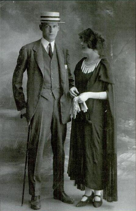 Harry Crosby és Caresse (fotó: Wikipedia)