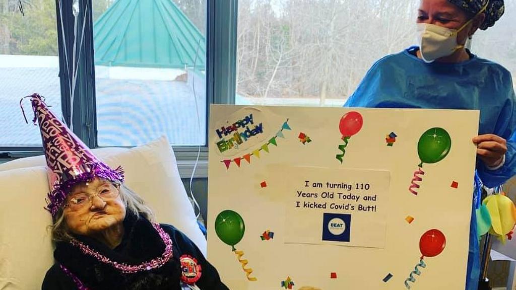 110 évesen gyógyult fel a koronavírusból
