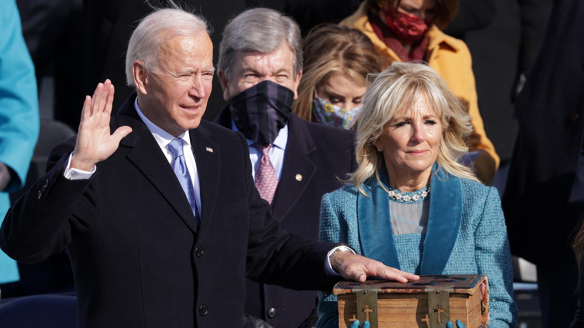 Joe Biden amerika 46. elnöke