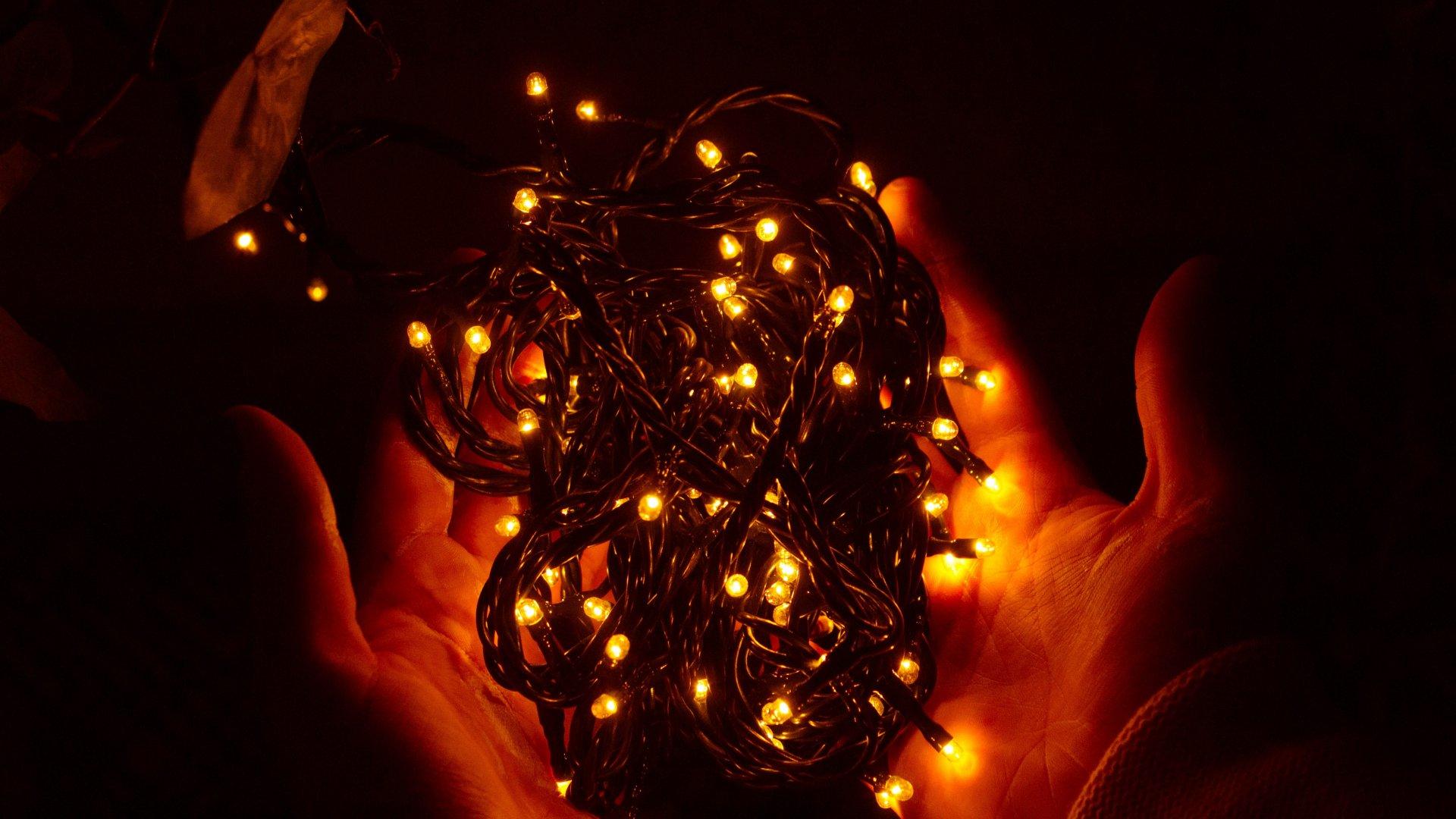 Karácsonyi égősor