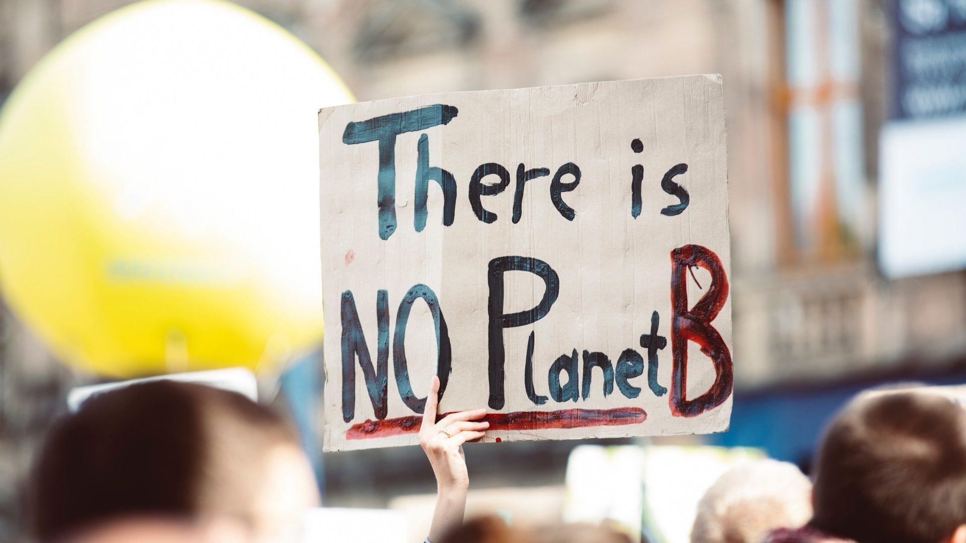 Klímaváltozás tüntetés