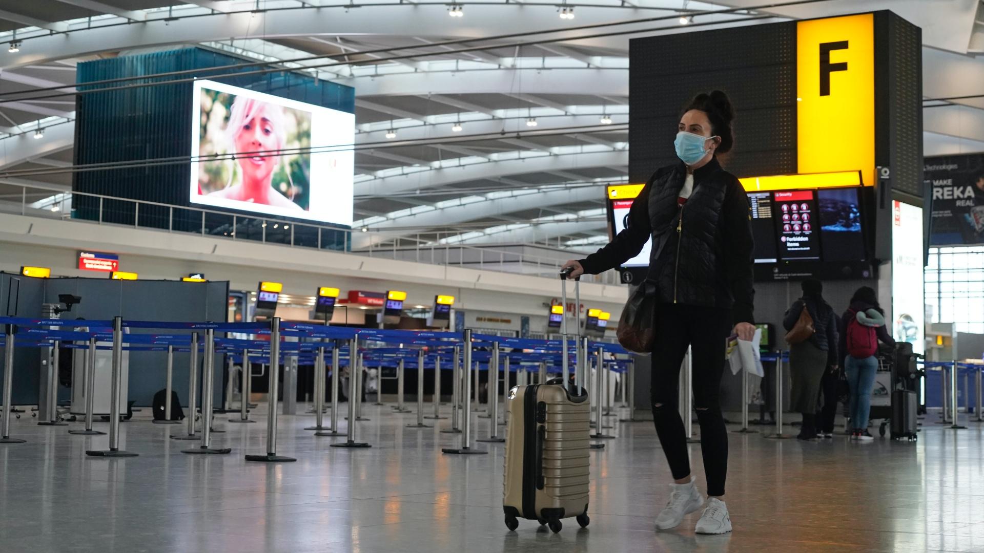 A londoni Heathrow repülőtér