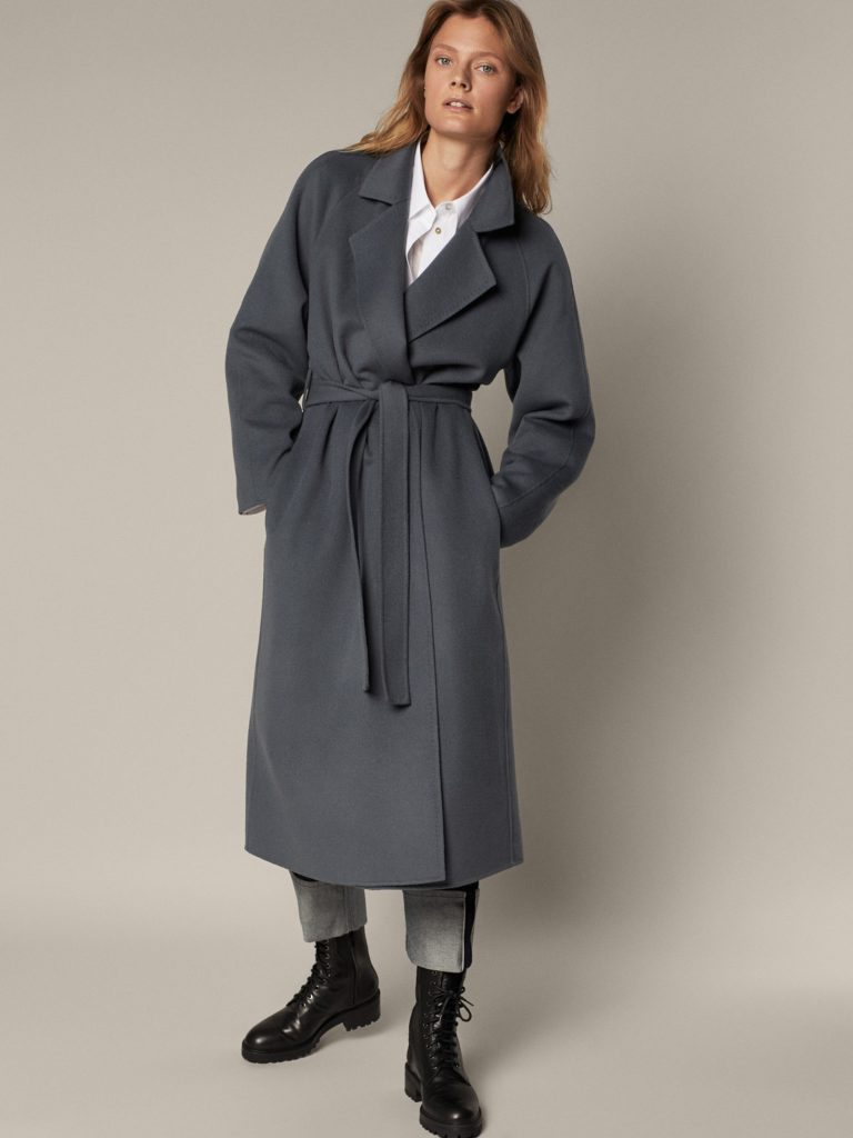 Massimo Dutti gyapjú kabát