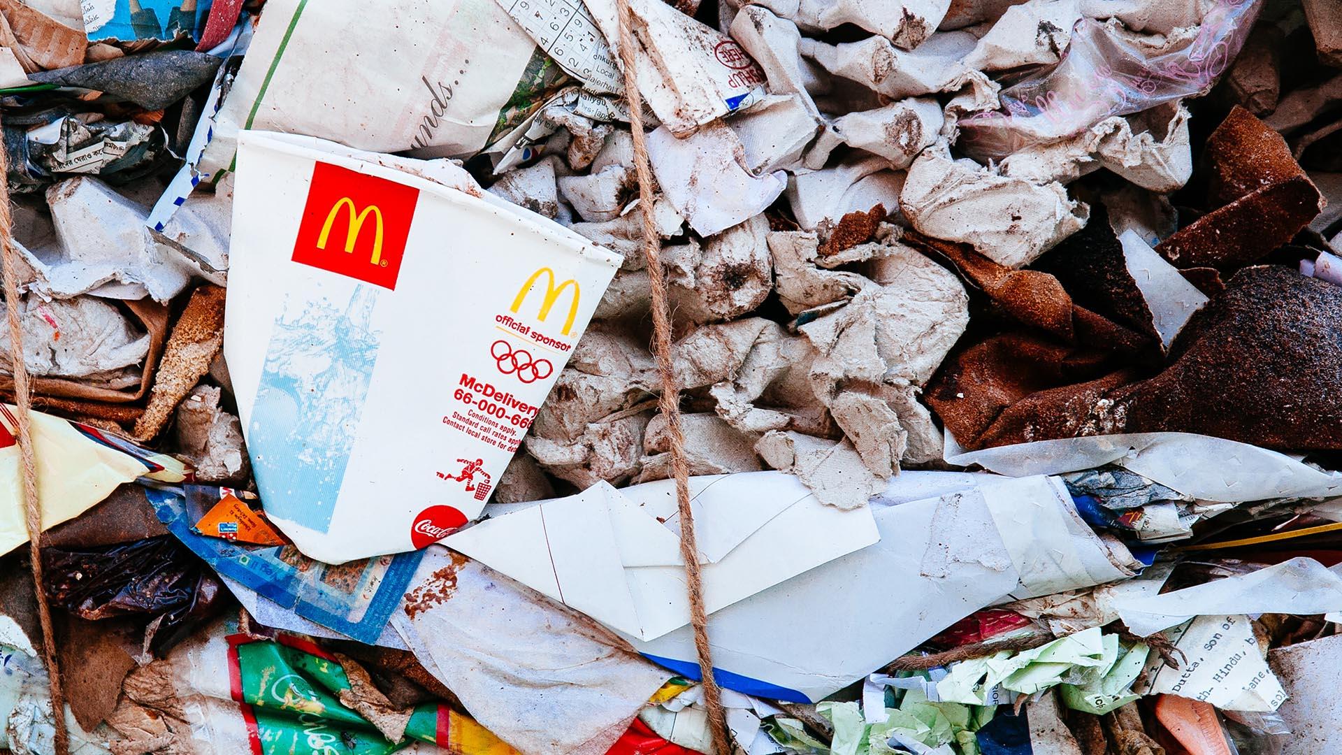 Ételhulladékból készülnek majd a McDonald's tálcái