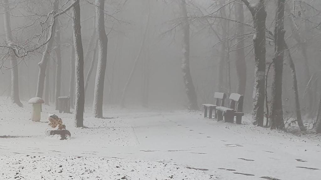 Havazás a Normafán