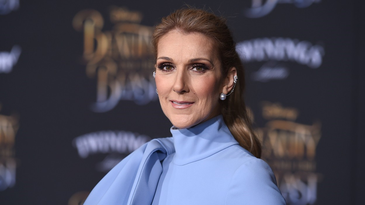 Celine Dion A szépség és a szörnyeteg című film Los Angeles-i premierjén 2017 márciusában.