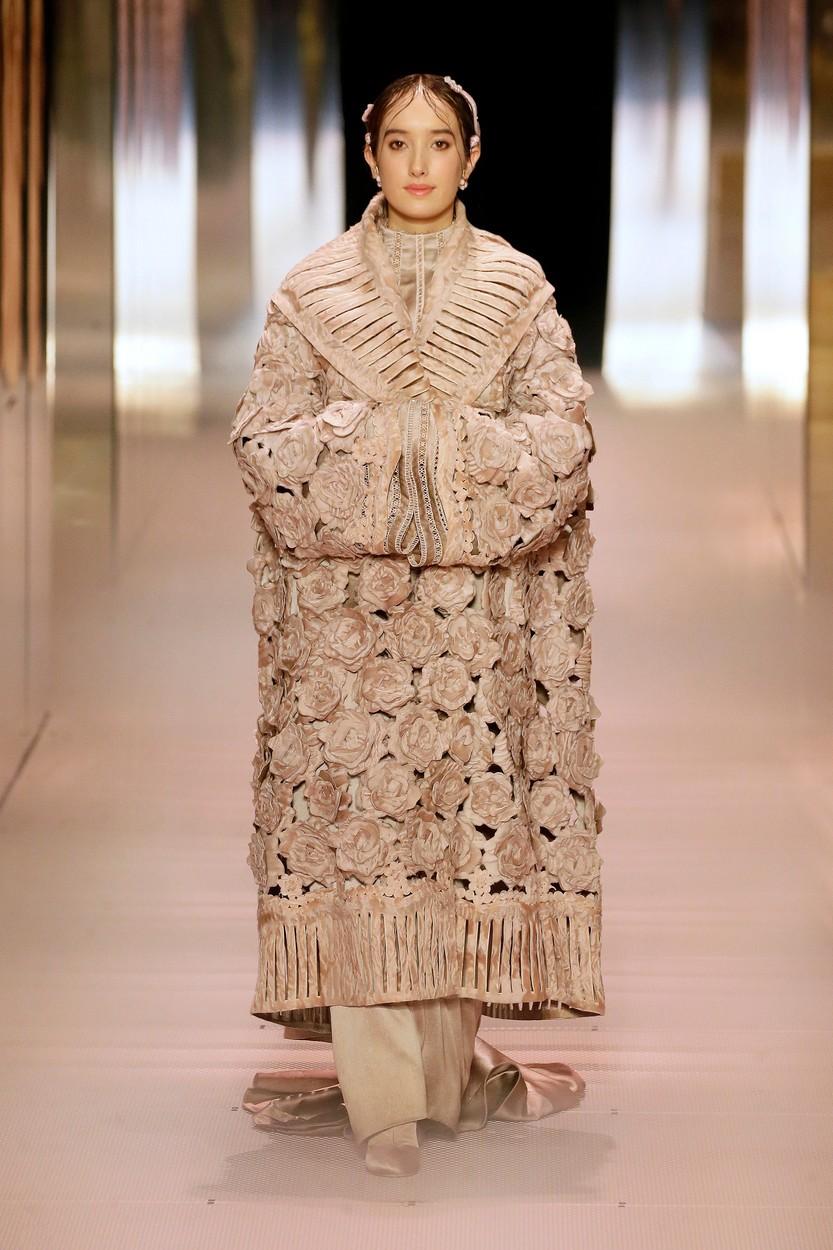 Fendi Haute Couture 2021 tavasz-nyár (Fotó: profimedia)