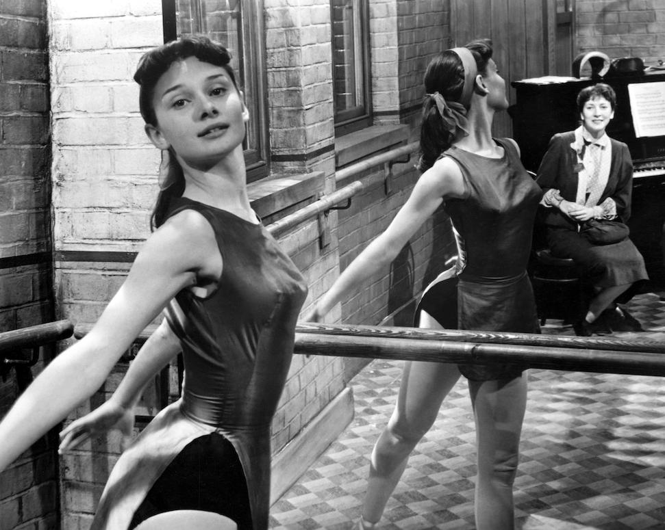 Audrey a londoni Rambert balettiskolába járt