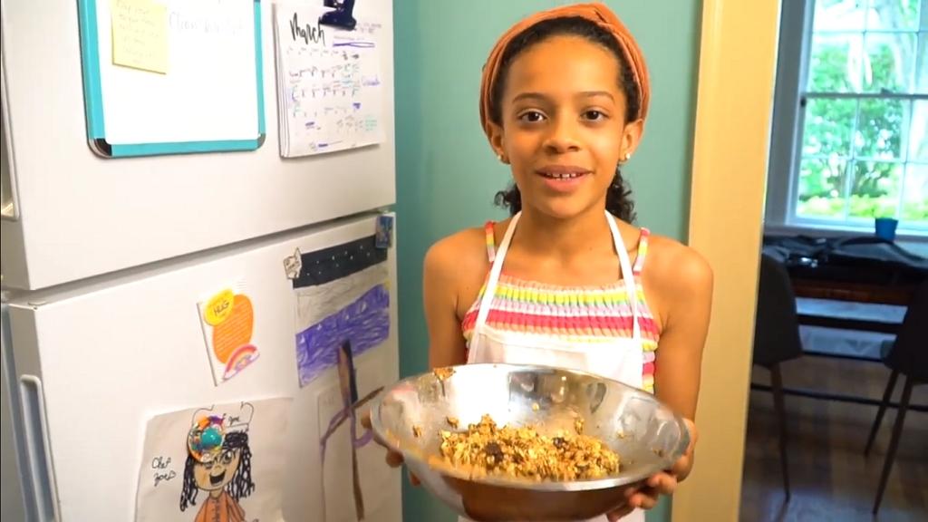 Hajléktalanoknak nyitna éttermet a kislány