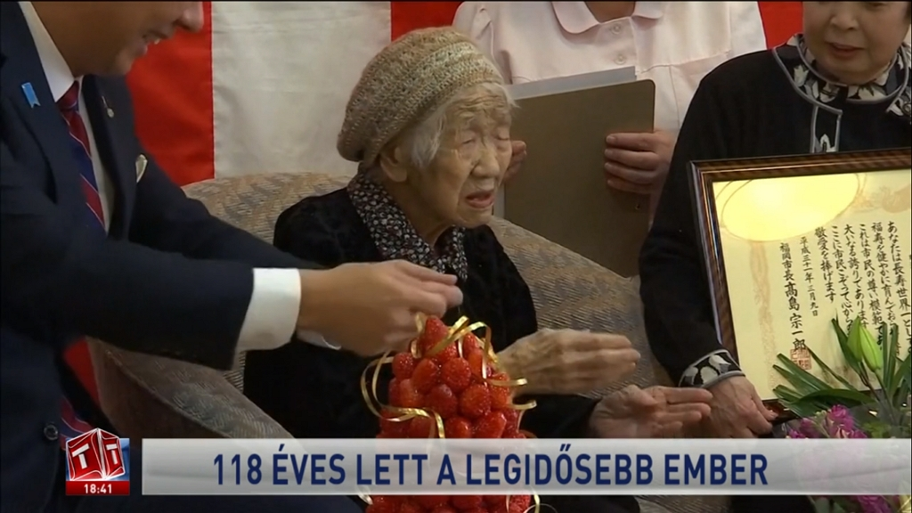 A világ legidősebb embere 118 éves lett