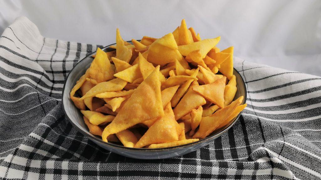 tortilla chips házilag