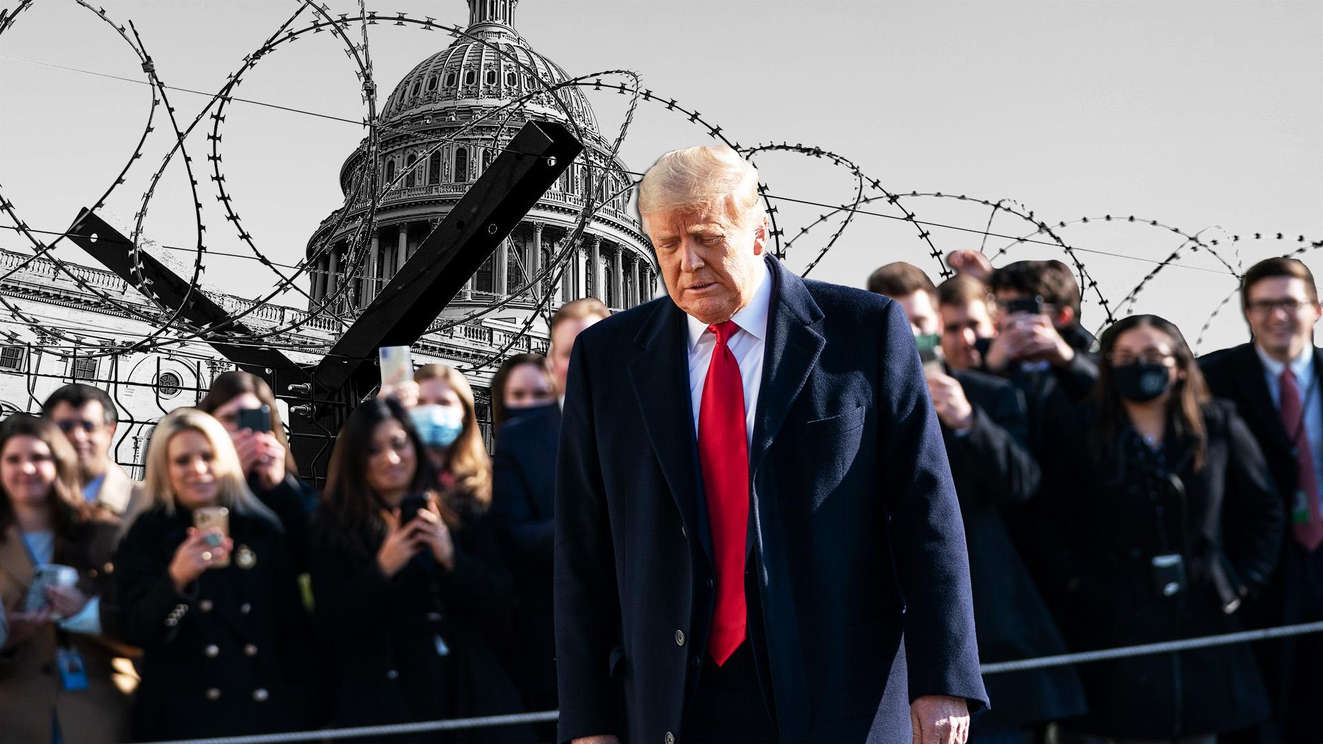 Trump elnöksége történelmi véget ér