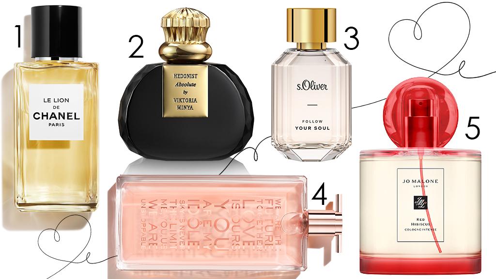 Női parfümök Valentin-napra