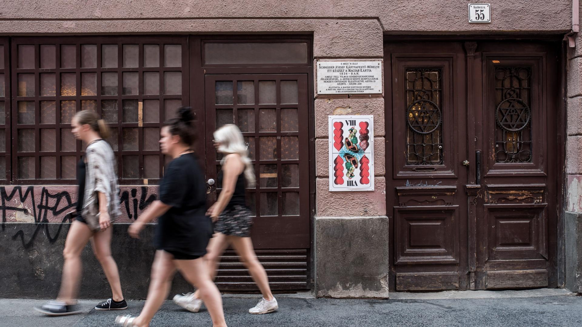 A Wichmann kocsma épülete a Kazinczy utcában