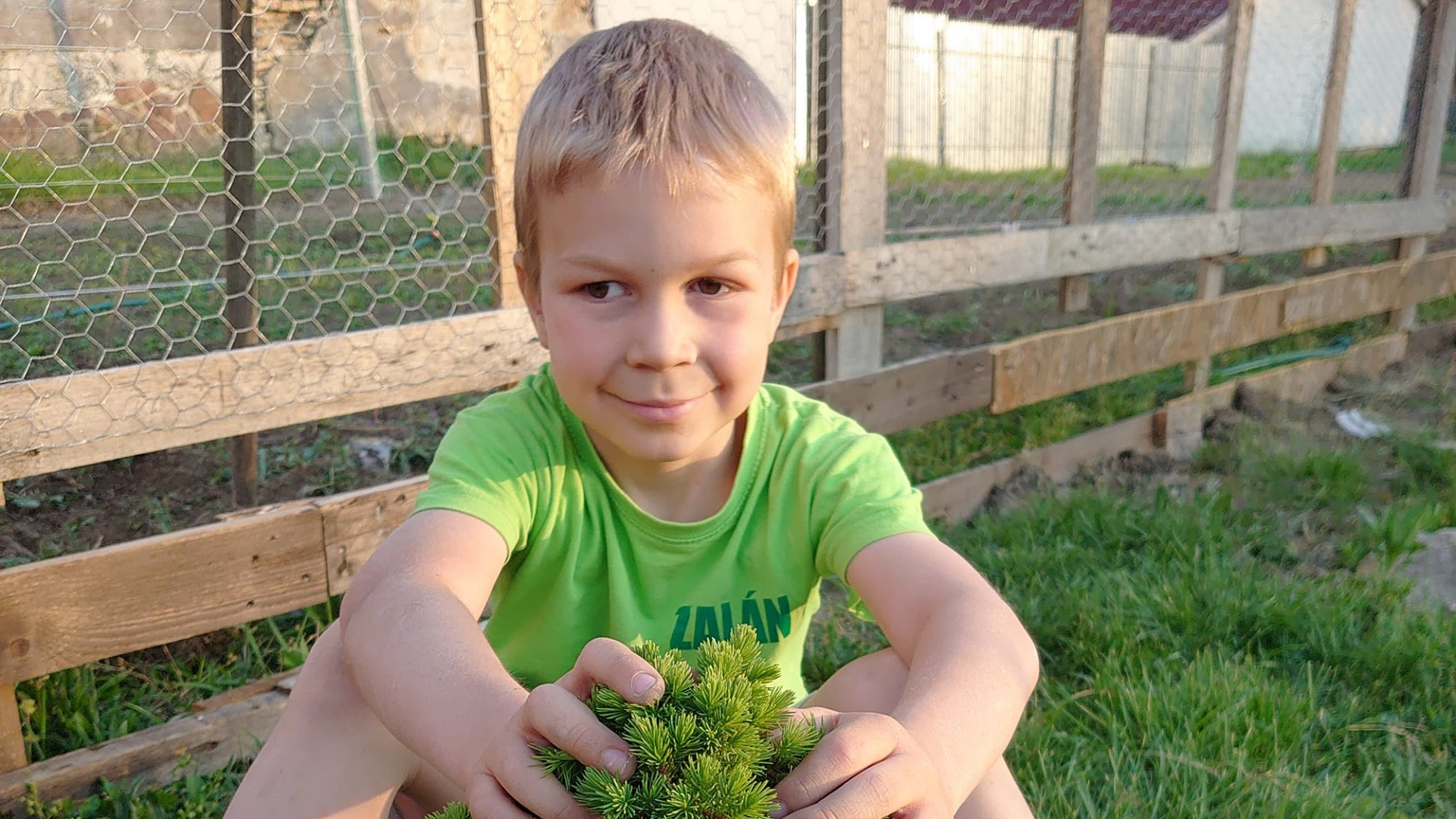 Zalán, a 7 éves szemdaganatos kisfiú