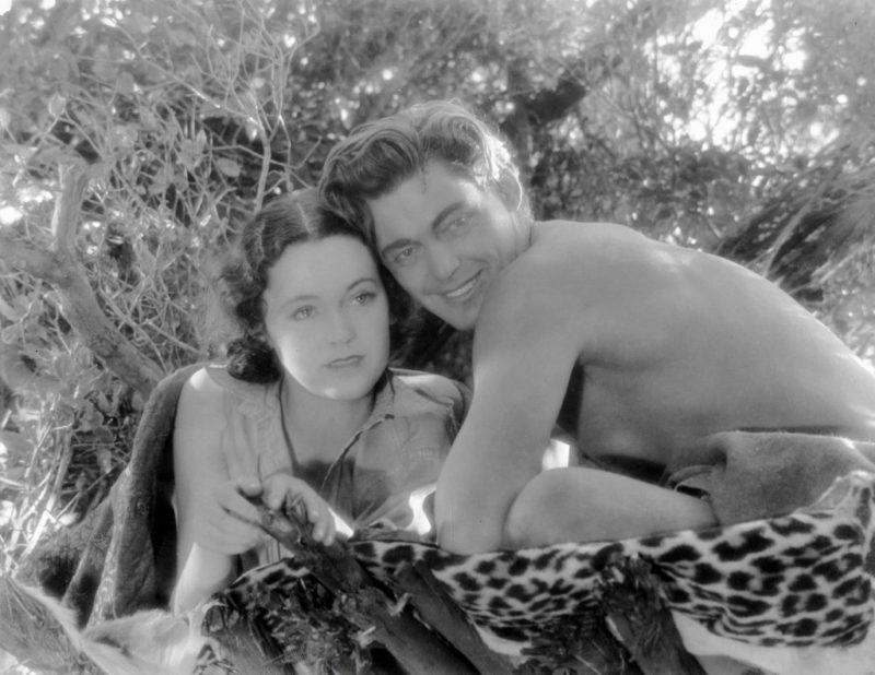 Johnny Weissmuller és Maureen O'Sullivan