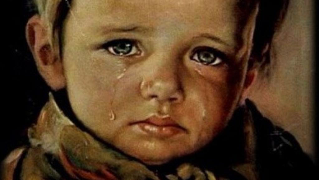 A síró fiú