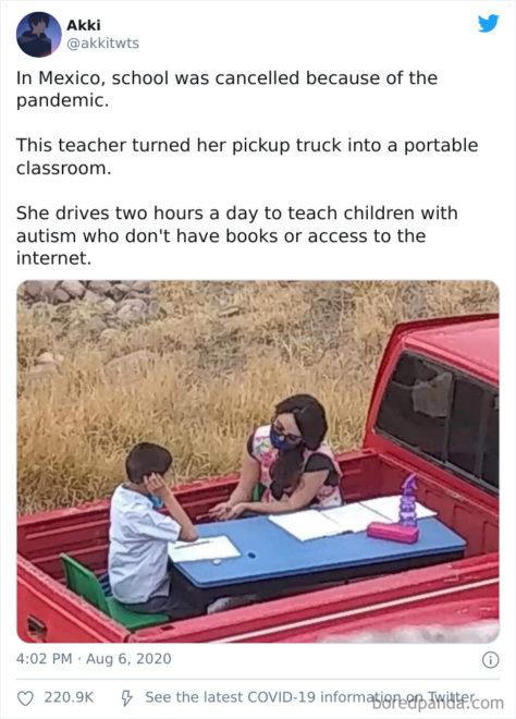 pandémia, mexikó, tanár
