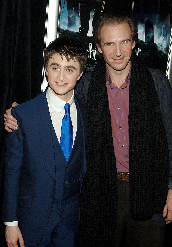 Daniel Radcliffe és Ralph Fiennes