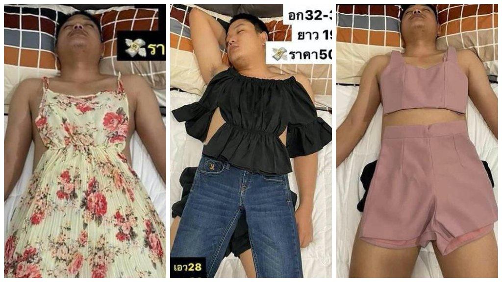 Alvó férjéből csinált modellt a leleményes ruhaboltos