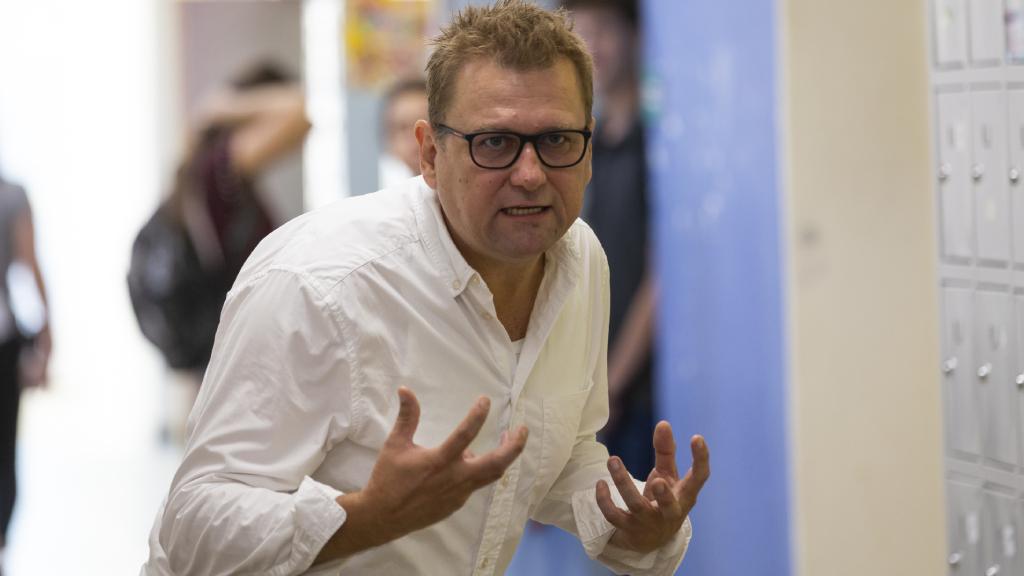 Anger Zsolt A Tanár rendezőjeként