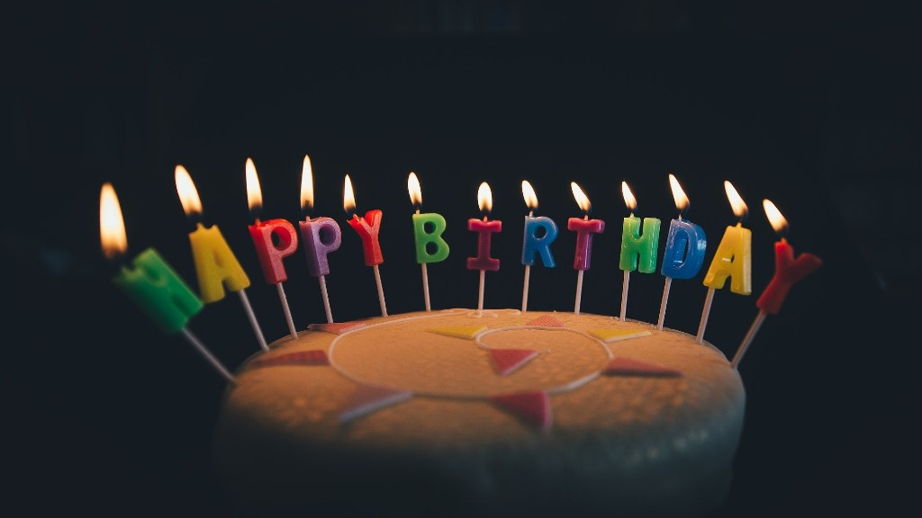Születésnapi torta. Képünk illusztráció (fotó: Pixabay)