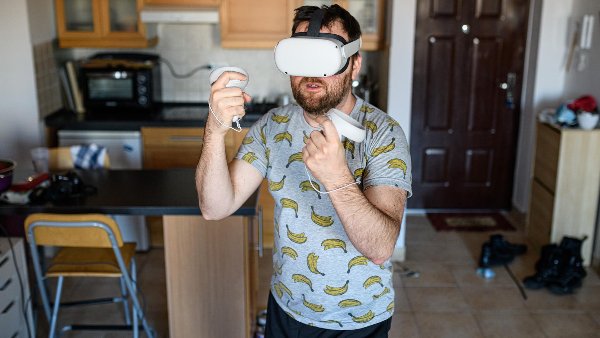 VR-edzés