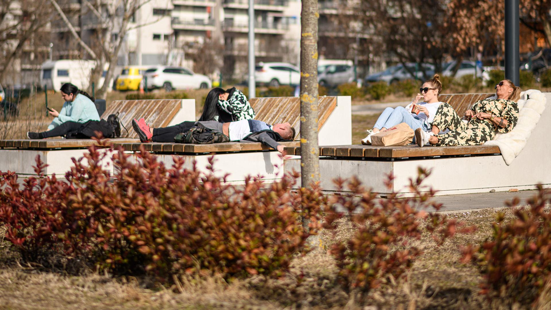 Februári tavasz Budapesten