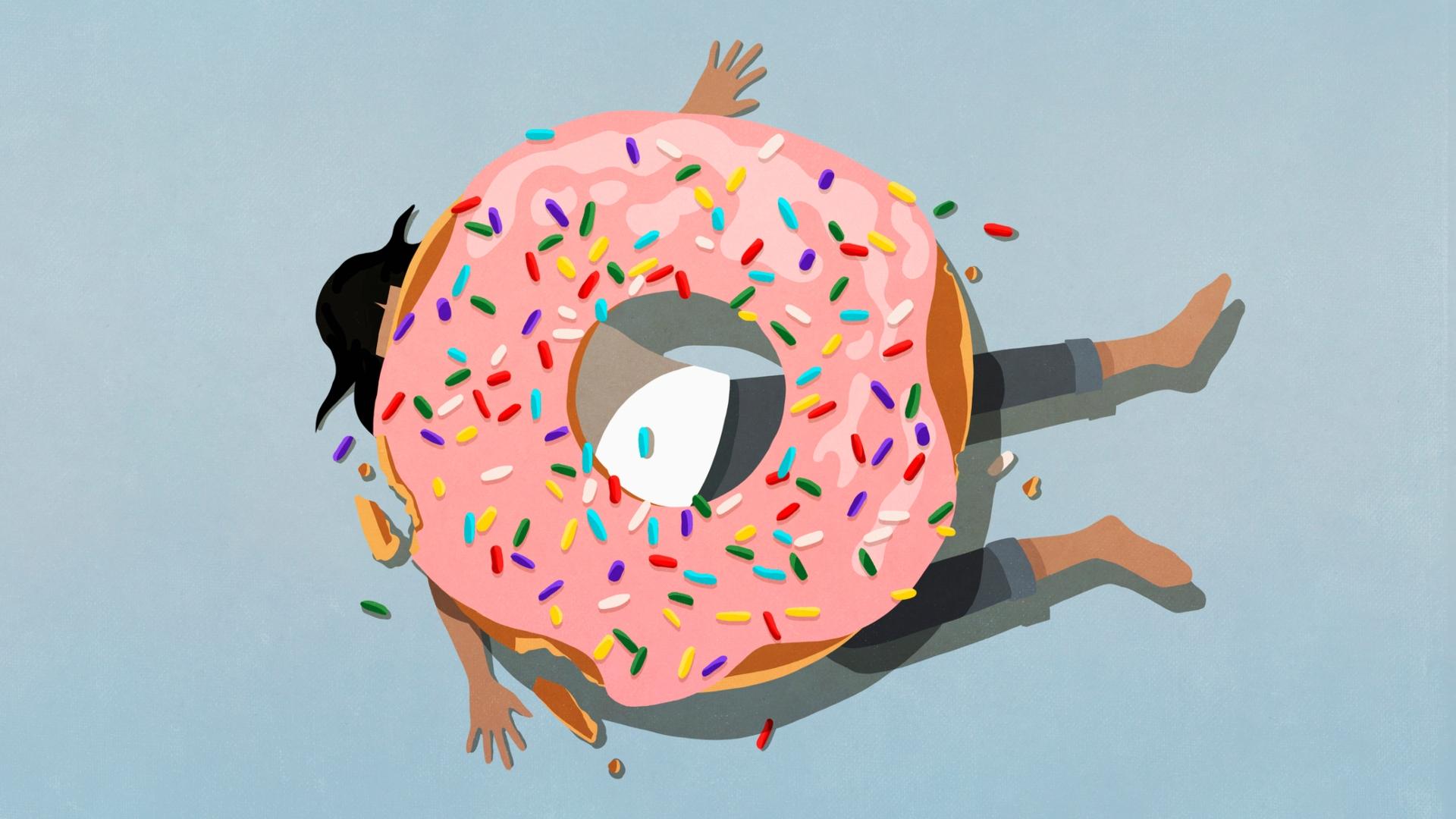 A cukorfüggőség olyan, mint a drogozás