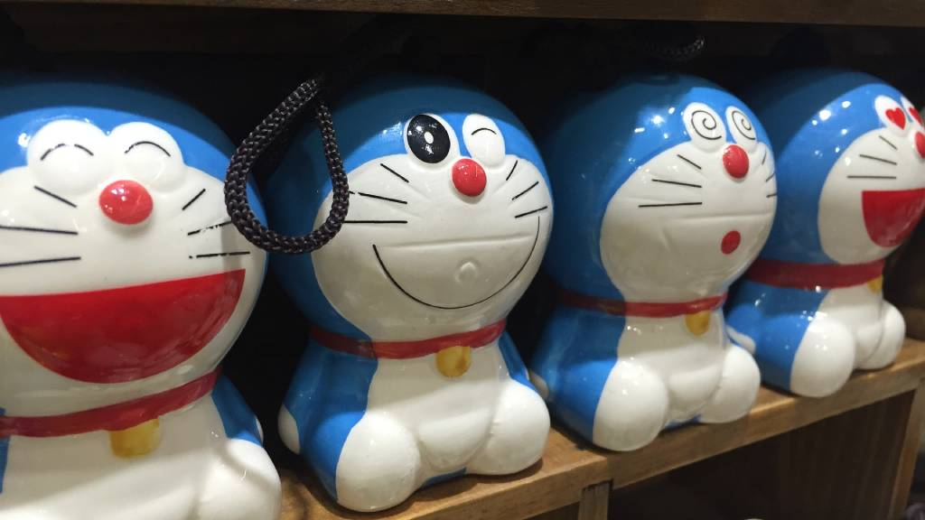 Doraemon japán anime