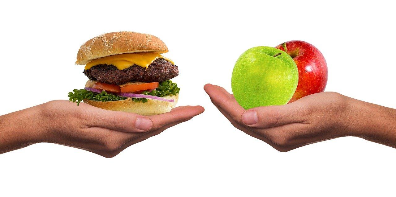 Hamburger és alma