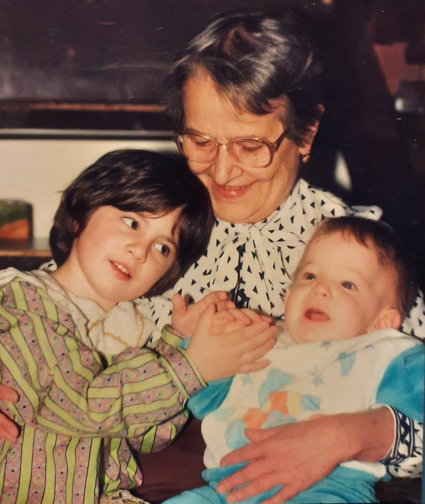 Endrei Judit egy régi családi képe