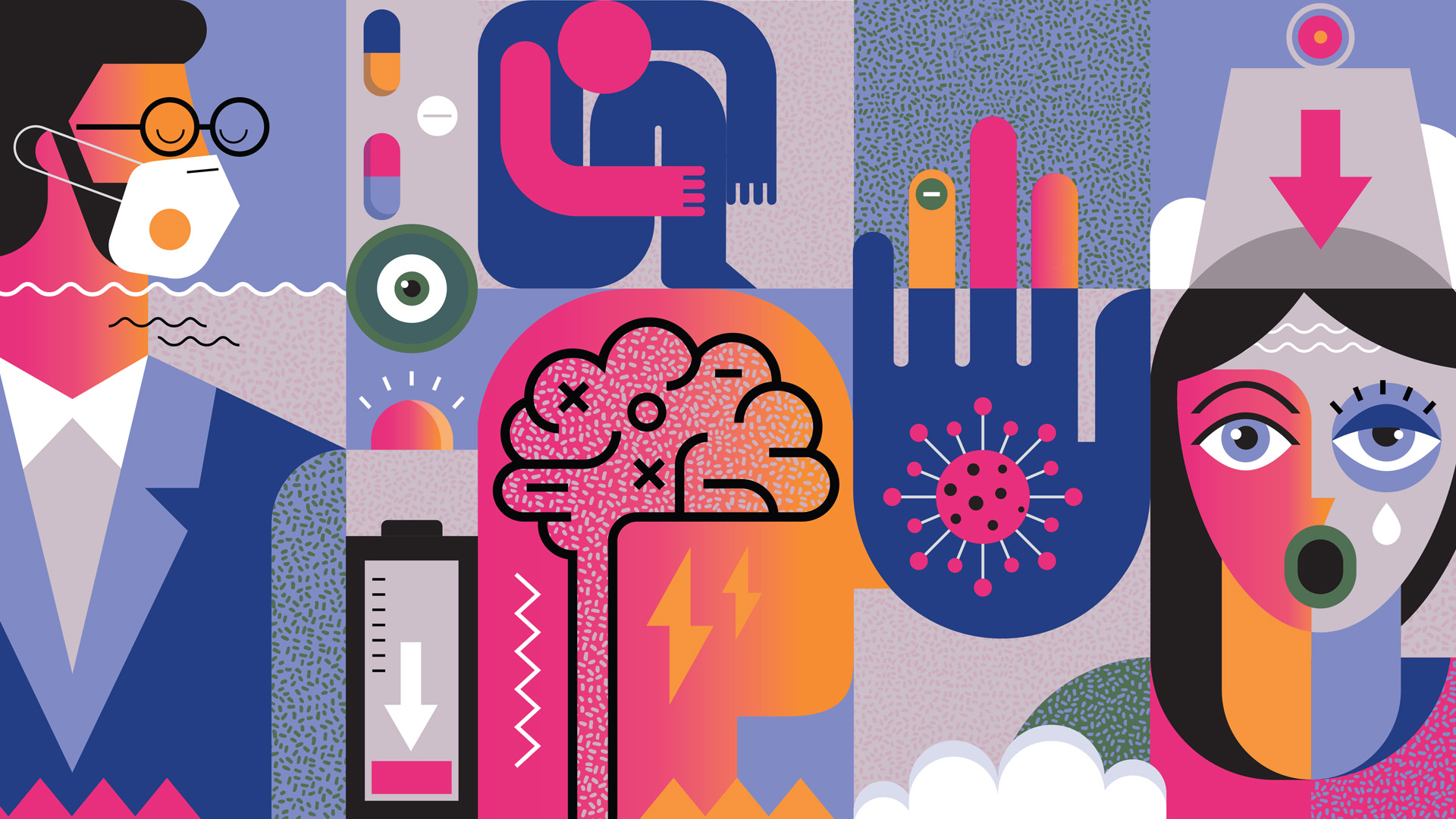 A járvány és az emberi idegrendszer kapcsolata