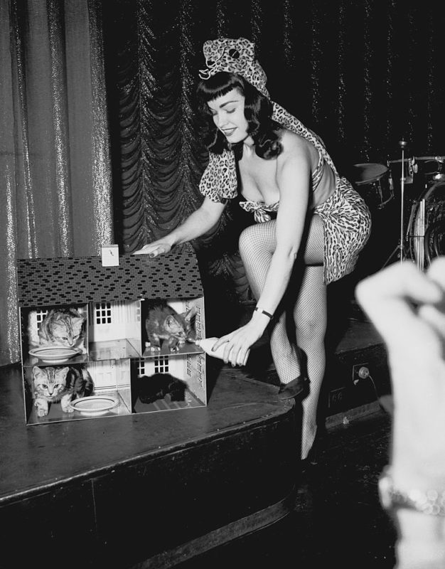 Bettie Page (Fotó: Getty Images)